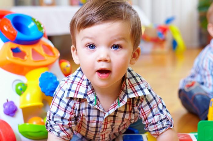 Ребенок в детском саду
