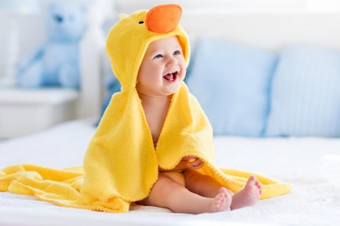 Малюк після процедури загартовування