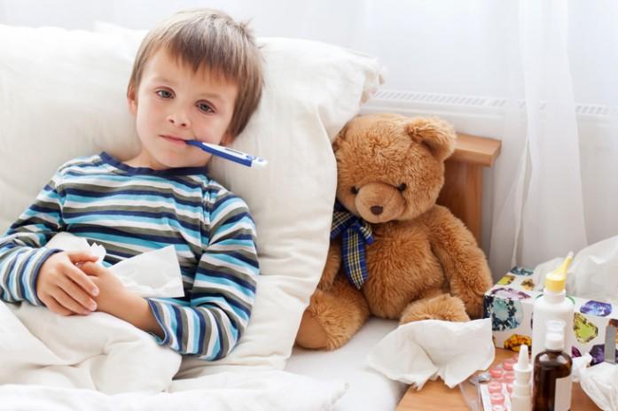 ребенок более гриппом