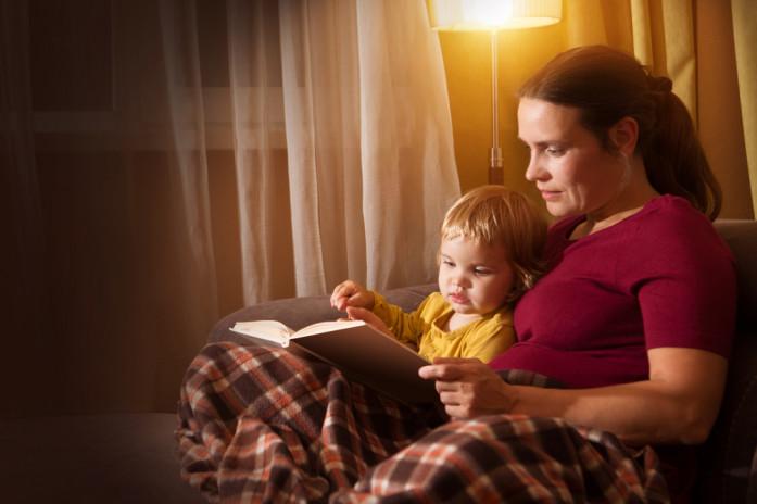 ребенок читает о страхах