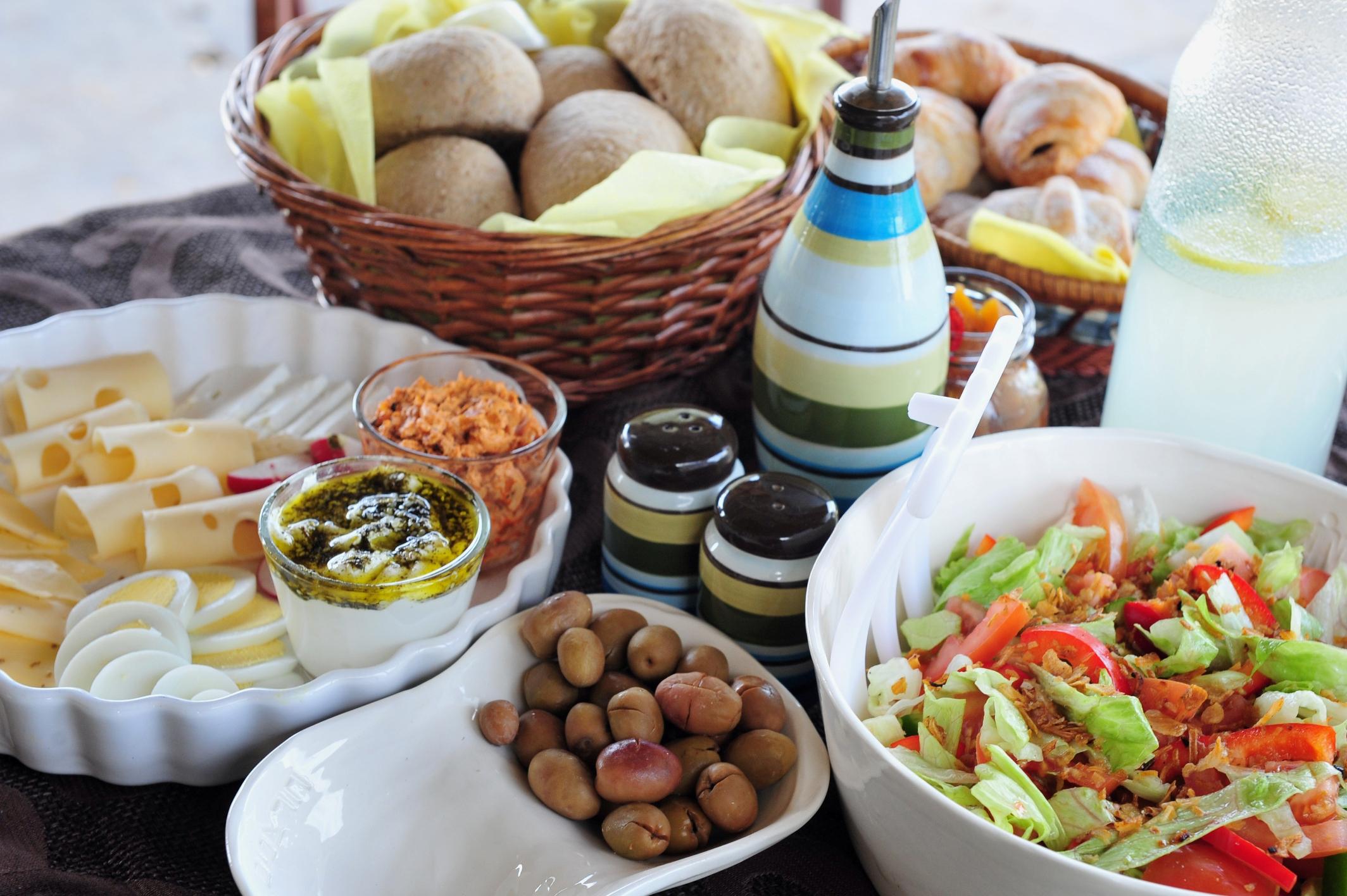 Завтрак в Израиле