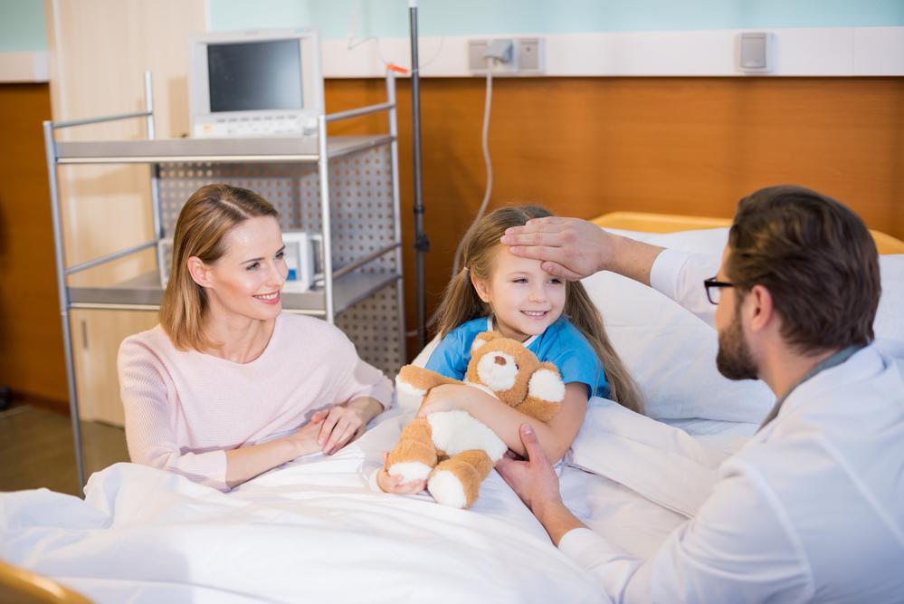 Ребенок с больнице