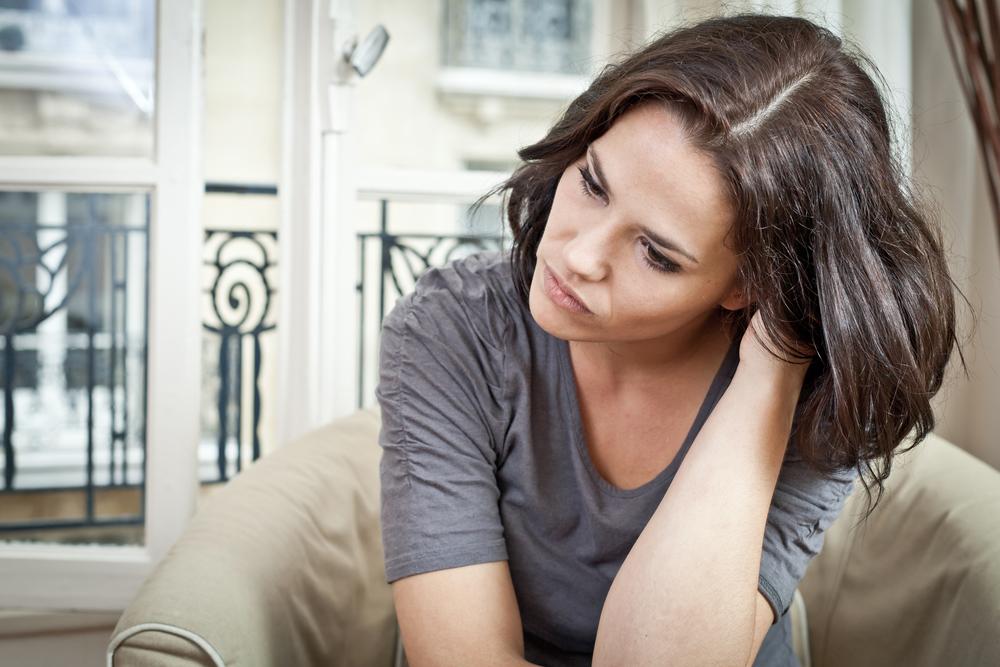 Расстроенная женщина картинка