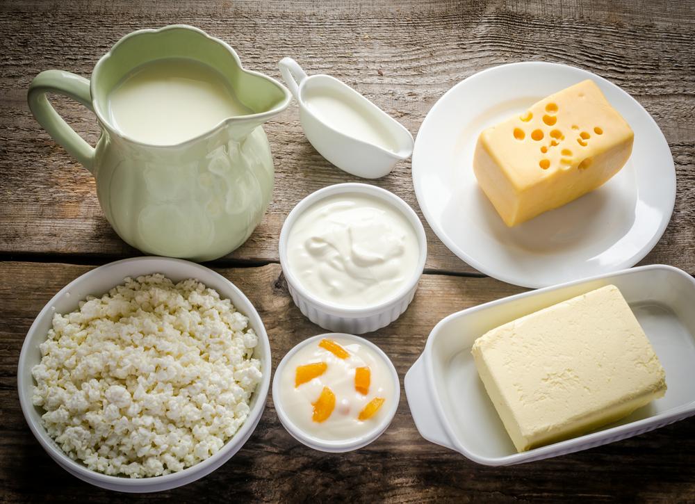 Молоко и молочные продукты. Лечебное питание при гипертонии