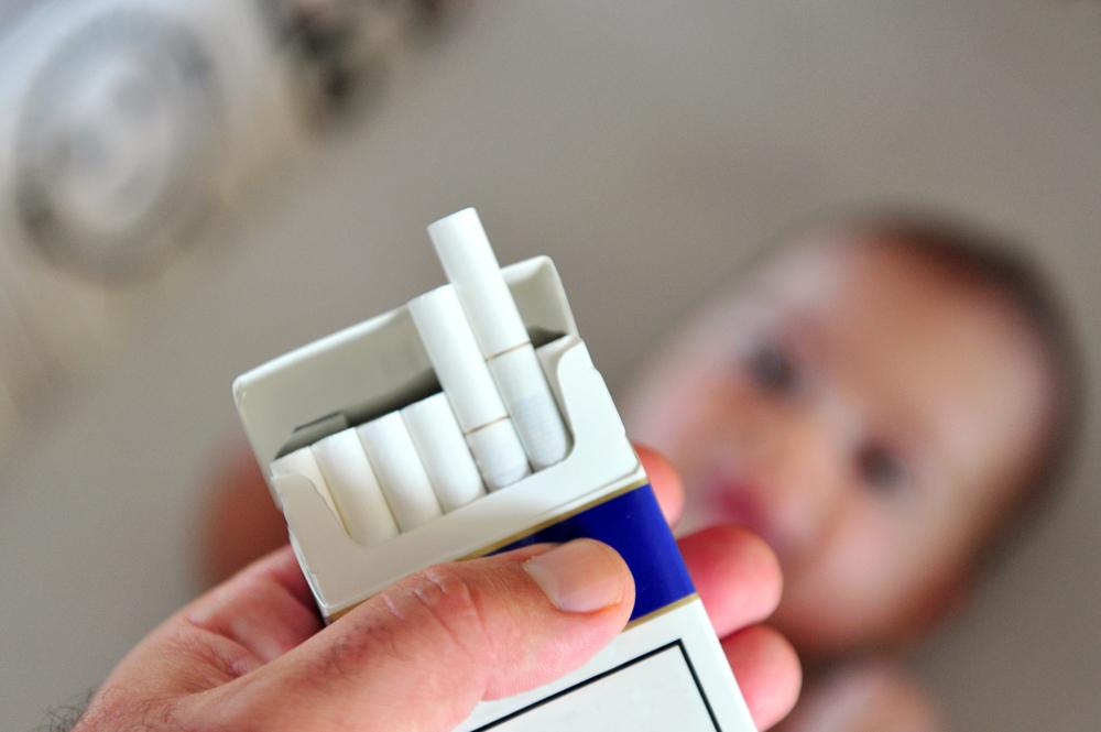 Курение отца влияет на восприимчивость ребенка к лекарствам