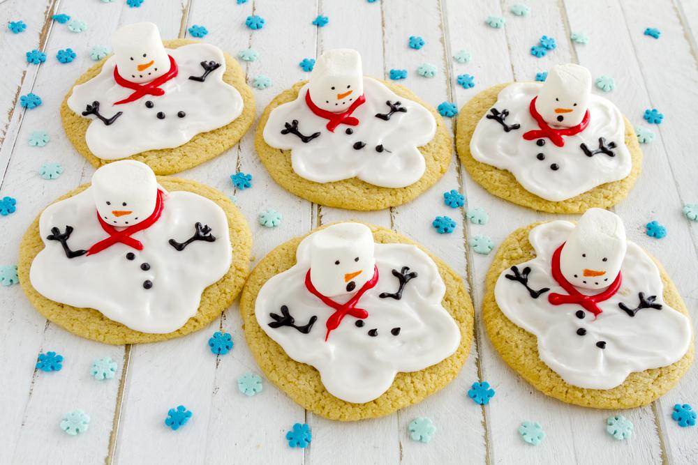 Печенье «Снеговики расстаяли»!
