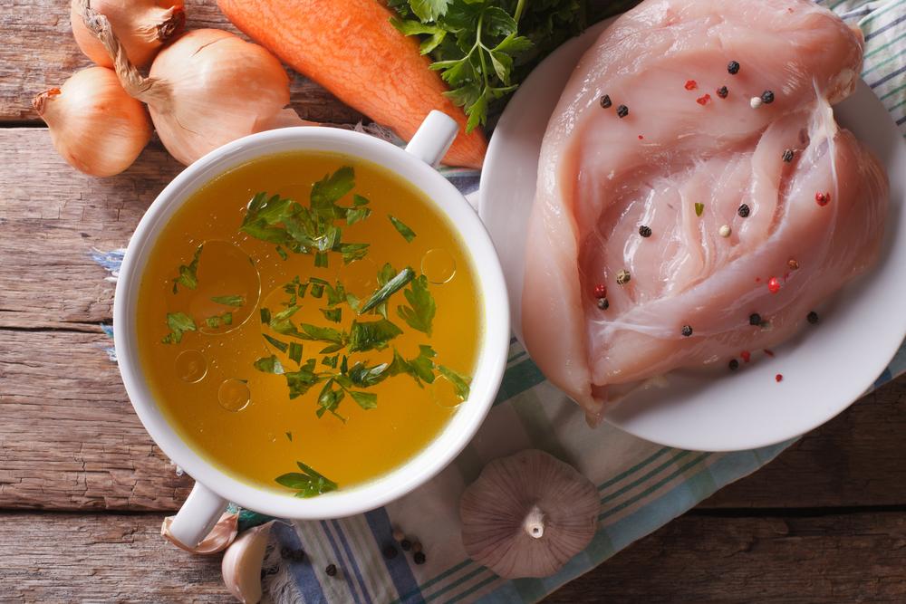 Курячий суп з курячого м'яса