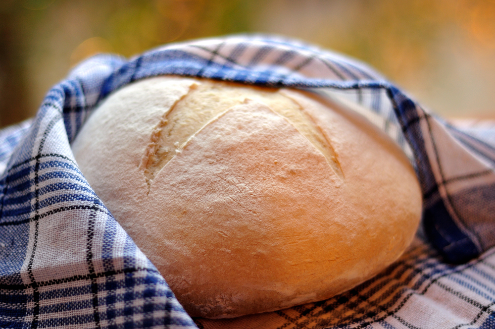 Круглый хлеб