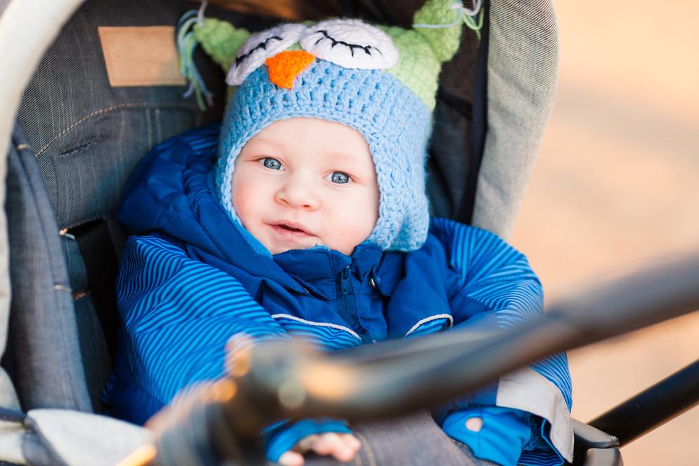 Как одевать новорожденного на прогулку в коляске