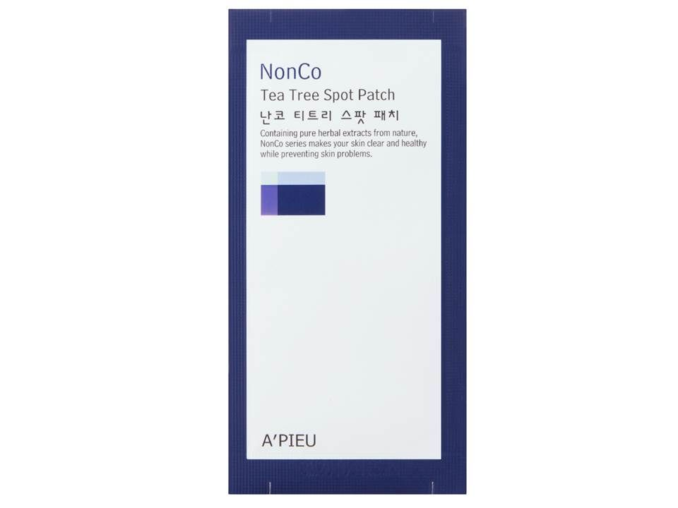 Патчи против прыщей NonCo Tea Tree Spot Patch Set A'PIEU