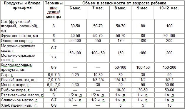 5312009638f2 Питание детей до года  введение прикорма ребенку с 6 месяцев