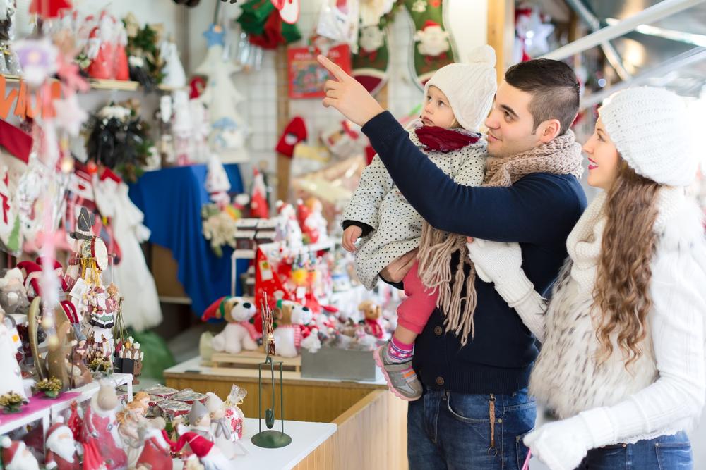 Зимняя фотосессия на рождественской ярмарке - и красиво, и празднично