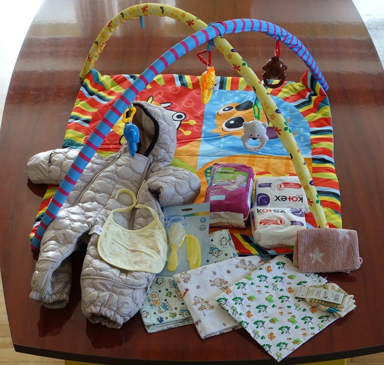Украинский бэби бокс содержимое, Пакунок малюка