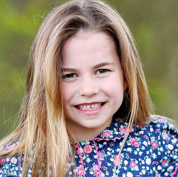 Принцесса шарлотта 6 лет