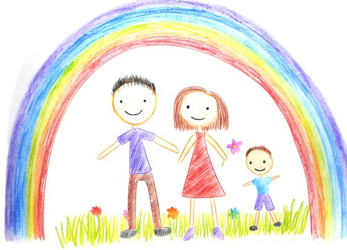 Про що розповість дитячий малюнок  учись читати малюнки малюка 1f3f40a349022