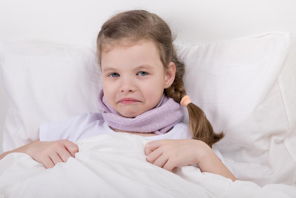 Паротит - свинка у ребенка